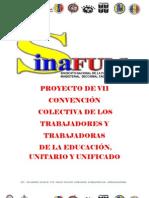 Proyecto Unificado y Unitario Vii Convencion Colectiva 2013-2015