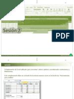 Excel Intermedio 07