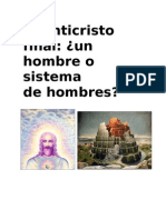El Anticristo Final