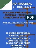1. Bolilla i - Derecho Procesal Civil i