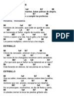 Acordes Domingo de Ramos