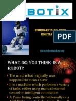 A Tutorial on Robotics Part I