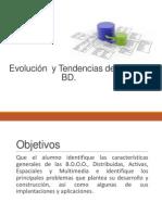 Evolucion y tendencias de las Bases de Datos.