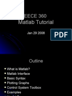 Matlab Tutorial for EECE 360