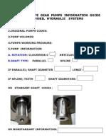 Cast Iron Type Gear Pump Information Guide