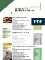 Barrinha de proteína caseira