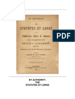 The Statutes at Large of the Confederate States of America