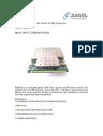 Cartao 907 Mhz FLR9G30