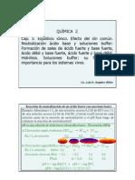 Clase Cap 3.4 Equilibrio Ionico Buffer