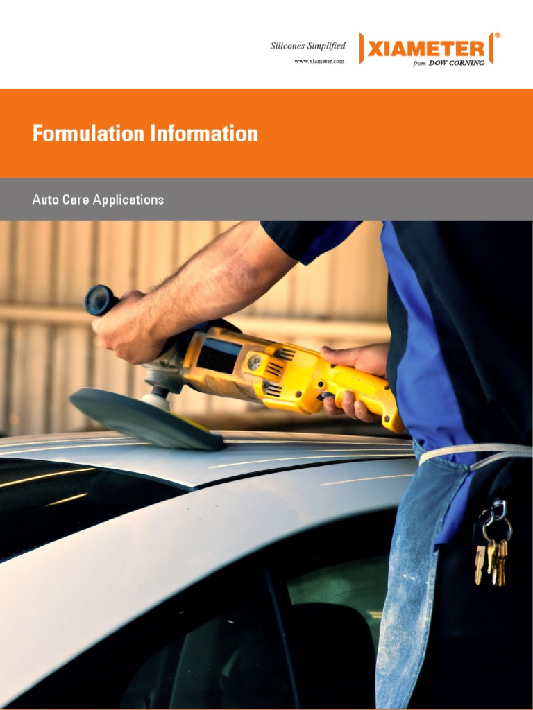 auto care formulations | Silicone | Dow Chemical Company