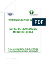 Apostila Microbiologia I[1]