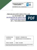 Modelo Programacion Matematicas