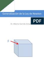 Generalización de la Ley de Newton
