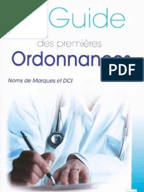 Le Guide Des Premi Res Ordonnances Par ( Www.lfaculte.com ...