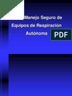 Equipo de Respiracion Autonoma