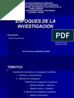 Ppt Enfoques de La Investigacion