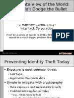 Issa Identity Theft Today