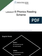 Lesson 9 Phonics