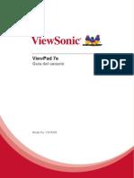 ViewPad 7E User Guide Español