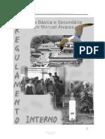 Regulamento Interno Escola Básica e Secundária Padre Manuel Álvares