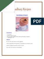 Cadbury Chocolate Recipes Scribd 4