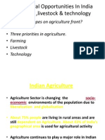 Agricultural Opportunities in India for Webinar Final