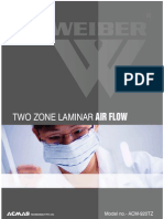 Two Zone Laminar Air Flow System