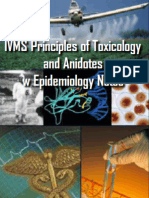 IVMS Principles of Toxicology and Anidotes Notes-Epidemiology