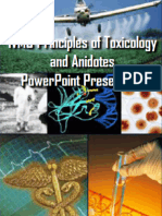 IVMS Principles of Toxicology and Anidotes -In Special Topics Pharmacology