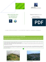 Fertilizzanti innovativi - Bio Aksxter - Relazione Tecnica