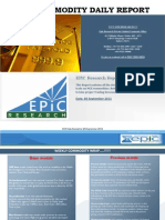 Weekly-commodity-report by EPIC RESEACH 9 September 2013