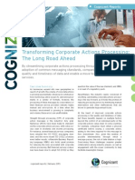 Transforming Corporate Actions Processing