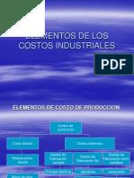 Elementos de Costos de Produccion