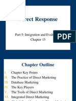 Chapter 15- Direct Response