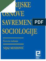 Teorijske Osnove Savremene Sociologije