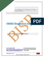 OBIEE Beginners Guide-I