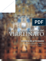 Memorial Virreinato