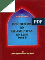 DiscoursesOnIslamicWaysOfLife-Volume5-ByShaykhMuftiTaqiUsmani