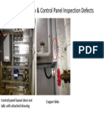 Irrigation Pump & Control Panel Inspection Defects