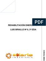 INFORME REHABILITACIÓN ENERGÉTICA