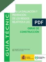 Guía técnica para la evaluación de riesgos laborales en la construcción