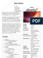 Ubuntu (Operating System) - Wikipedia, The Free Encyclopedia