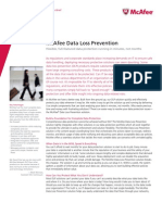 McAfee DLP Solution Brief