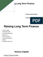 Raising Long Term Finance