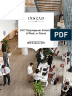 MBA 2007 Employment Statistics