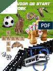 Klaar Voor de Start Werkboek Over Sport en Spel Voor Kinderboekenweek 2013 Door Schoolgoochelaar Aarnoud Agricola