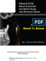 IGCSE Music Revision Notes