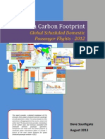 Aviation Carbon Footprint
