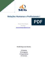 Resumo Relações Humanas e Profissionais I