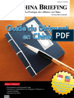 Guide du Dirigeant en Chine (CB 2012/04)